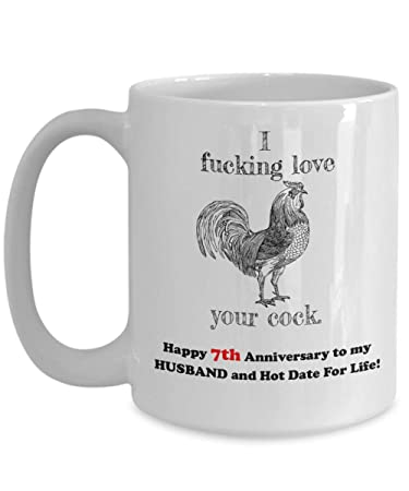 Amazon Happy 7th Anniversary Gift For Husband 7 Th Seven Year