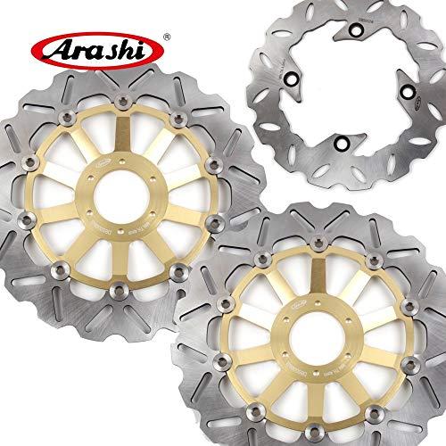 Arashi Front Rear Brake Disc Rotors for HONDA CBR900RR 1994-1997 Motorcycle Replacement Accessories CBR 900 RR CBR900 900RR 94 1995 1996 97 CB400N VTR1000R Gold