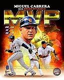 Miguel Cabrera Detroit Tigers 2012 AL MVP Composite Photo 11x14