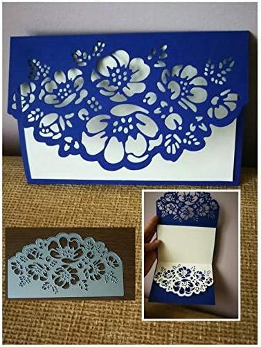 Cutting Dies Lace Flower Edge DIY Metal Embossing Paper Craft Border Cut Stencil