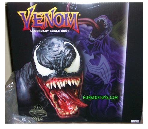 Sideshow Exclusive Venom Legendary Scale Bust - Marvel Comics Polystone with Nameplate - Limited to Only 400