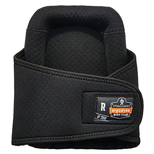 Ergodyne ProFlex 350 Protective Slip-Resistant Knee Pads, Gel Foam Padded Technology, Adjustable Straps, Black by Ergodyne (Image #1)
