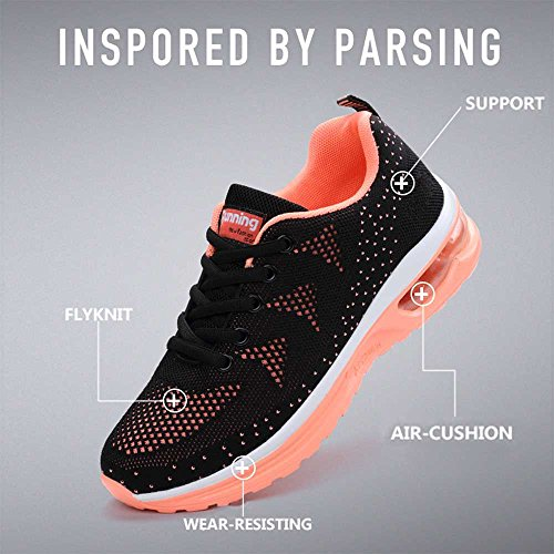 De Fitness Chaussures Outdoor Course Sneakers Rose Hommes Sitaile Sports Mode Unisexe Femme Basket noir Athlétique Gym Multisports AwgzqXf