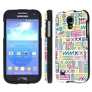 NakedShield Verizon Samsung Galaxy S4 Mini (Color Ancient Text) Total Hard Armor Art Phone Case