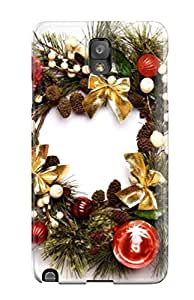 Hot Design Premium Pyfkhhv10493xHgNT Tpu Case Cover Galaxy Note 3 Protection Case(christmas Holiday Christmas)