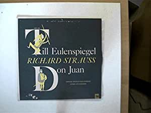 Richard Strauss: Till Eulenspiegel, Don Juan, Symphonie Orchester Radio Frankfurt, Leitung: Otto Ackermann,