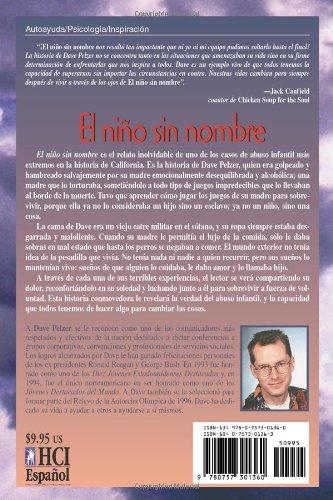 El Niño Sin Nombre: La lucha de un niño por sobrevivir (Spanish Edition): Dave Pelzer: 9780757301360: Amazon.com: Books