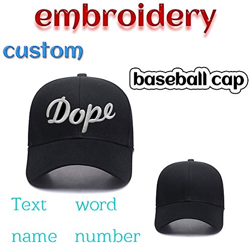 (Custom Embroidered Adjustable Cheap Baseball Hats Fitted Embroidery Cowboy Caps for Men and Women in Bulk with Text Name Word)
