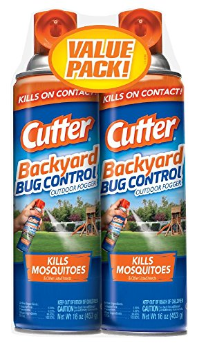 Cutter 65704 Backyard Bug Control Outdoor Fogger (HG-65704) (Twin Pack), Case Pack of 2 by Cutter