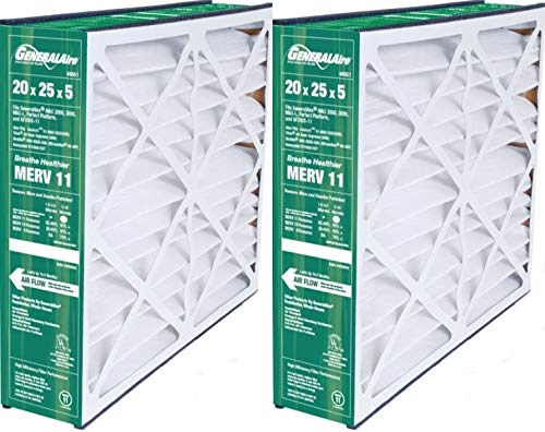 Generalaire 6FM2025 Reservepro-2PK- 4551 Air Filter-20x 25x 5-for Old 4501-Exact Dimensions are 19 5/8x 24 3/16x 4 15/16