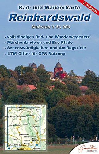 Reinhardswald: Rad- und Wanderkarte (wetterfest)