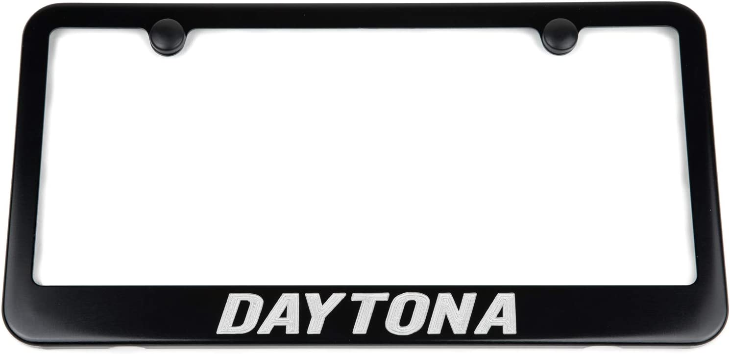 Dodge Blue /& Red Charger R//T Chrome License Plate Frame Made in USA
