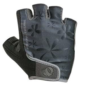 Pearl iZUMi Women's Symphony Cycling Glove,Black Flower,Small