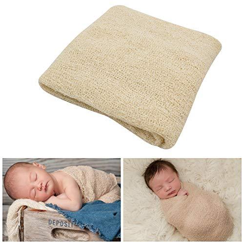 JLIKA Newborn Baby Photography Photo Props Stretch Rayon Wrap Cheesecloth ()