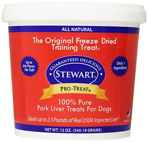 Pro-Treat GIMBORN for Dogs Freeze Dried Pork Liver Treats for Dogs, 12-Ounce (Pork Dog)