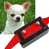 Generic Red : Dogs Anti-bark No Barking Electronic Shock Dog Collar Control Collar Trainer