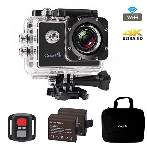 Best Action Camera,CrazyFire 4K Ultra HD Sport Action Camera