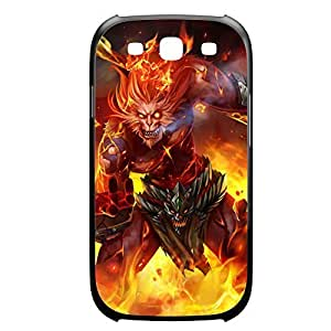 Wukong-006 League of Legends LoL case cover Samsung Galxy S4 I9500/I9502 Plastic Black Kimberly Kurzendoerfer