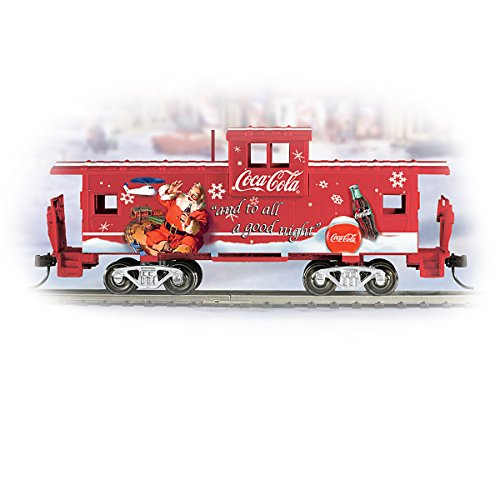 COCA-COLA Through The Years Express Train Accessory: The Classic Style Caboose by Hawthorne Village -  1400772011