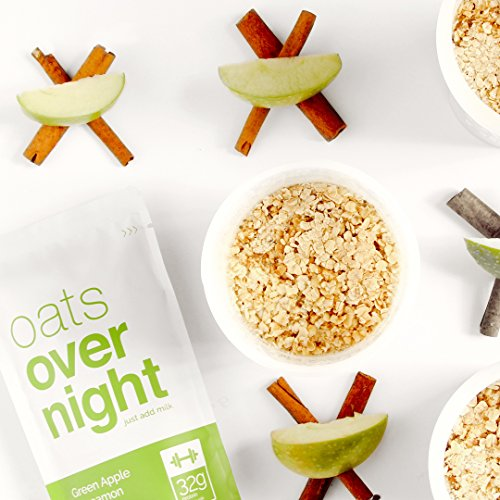Oats Overnight - Premium High-Protein, Low-Sugar, Gluten-Free (3oz per pack) (12 Pack Variety with BlenderBottle) by Oats Overnight (Image #4)