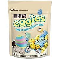 HERSHEY'S EGGIES Easter Chocolate Candy, Cookies 'N' Crème, 220 Gram