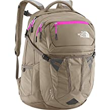 The North Face Women's Women's Recon Brindle Brown/Luminous Pink Backpack