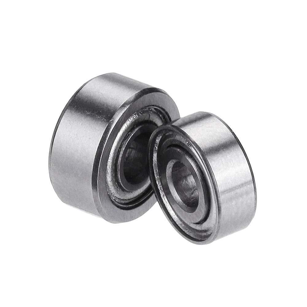 Machifit 10pcs MR83ZZ MR93ZZ Bearings I.D 3mm Double Shielded Miniature Deep Groove Ball Bearing