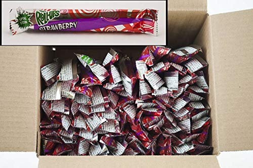 Fruit Roll-Ups Reduced Sugar Strawberry - 0.5 oz. pack, 96 per case by General Mills (Image #1)