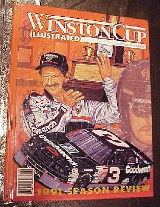 Nascar Winston Cup Champions (Winston Cup Illustrated February 1992: Nascar 1991 Season Review Earnhardt Champion Sam Bass Cover)