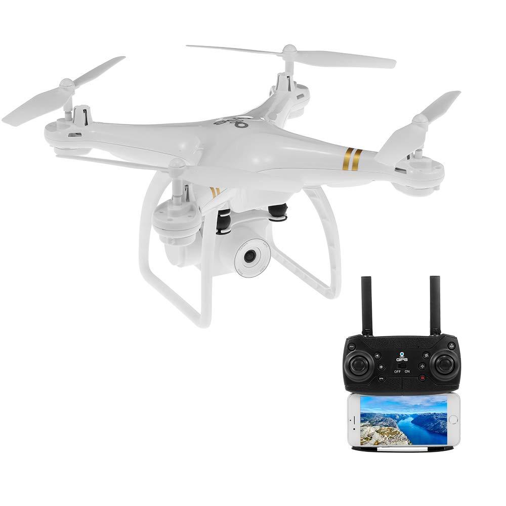 Goolsky- HY-83 GPS 5G WiFi Drone con Cámara 1080P Gran Angular Sígueme Quadcopter