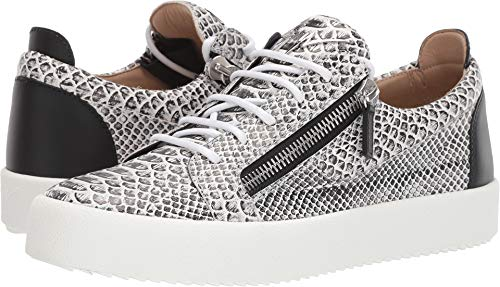 Giuseppe Zanotti Men's May London Textured Low Top for sale  Delivered anywhere in USA