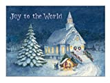 Legacy of Faith Deluxe Boxed Christmas Cards with Scripture, Winter Church, 20-Count (HBX2124)