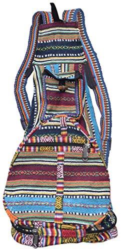 LITTLE KATHMANDU - Bolso mochila  para mujer