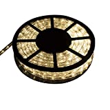 Ainfox LED Rope Light, 50Ft 540 LEDs LED Strip Lights Indoor Outdoor Waterproof Decorative Lighting (Warm White)