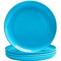 MICHLEY Plato de plástico, 100% Tritan-plástico Irrompible plastos