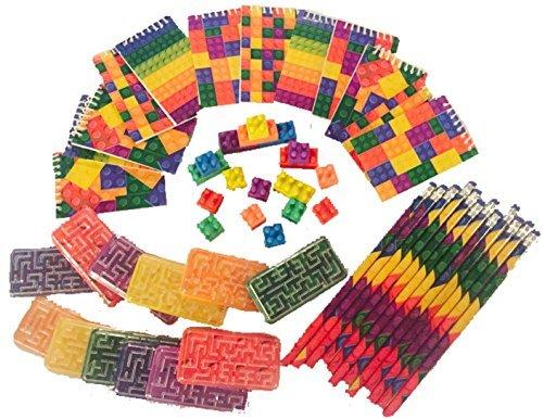 Brick Building Blocks Party Favor Novelty Toys Set