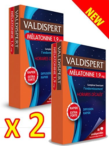 Valdispert - Comprimido bucodispersable de melatonina 1,9 mg - Pack ...