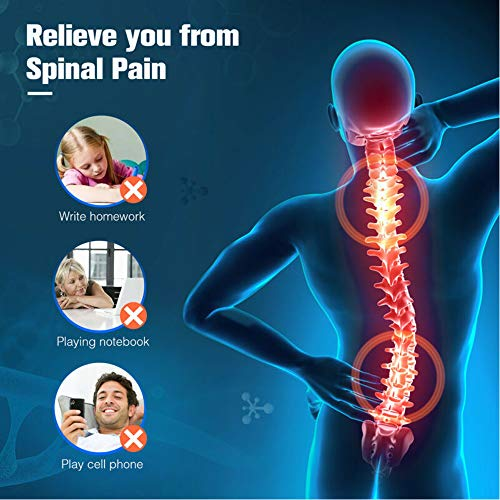 FanBell Posture Corrector Support Magnetic Lumbar Back Shoulder Brace Belt for Women Men (XL)