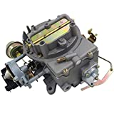 #9: iFJF 2 Barrel Carburetor for Ford Motorcraft 2150 W/Electric Choke Fits Ford F100 F350 Mustang Jeep Wagoneer