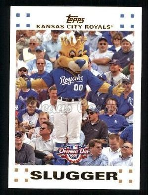 2007 Topps Opening Day # 199 Slugger Kansas City Royals (Baseball Card) Dean's Cards 8 - NM/MT Royals