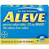 Aleve Naproxen Sodium Caplets, 6 Count