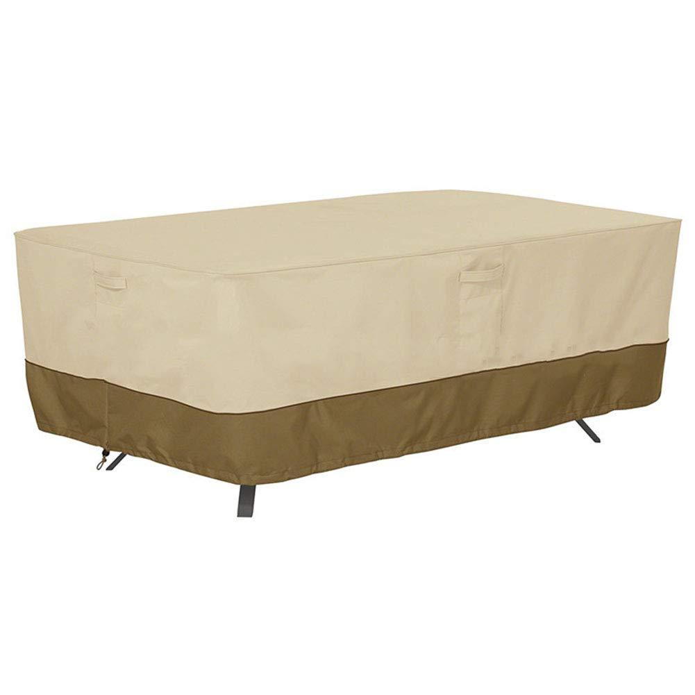 MDBLYJWinddichtes und kaltes Tuch Sonnenschutztuc Tisch und Stuhlabdeckung im Freien, Balkonstaubschutz, Regenschutz
