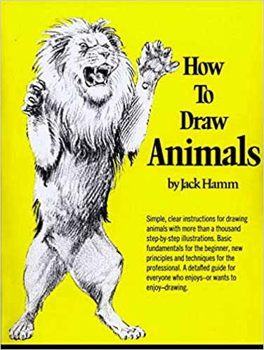 how to draw animals perigee jack hamm 9780399508028 amazoncom books