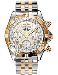 Breitling Chronomat 41 Steel & 18kt Rose Gold Mens Watch CB014012/A748 378C
