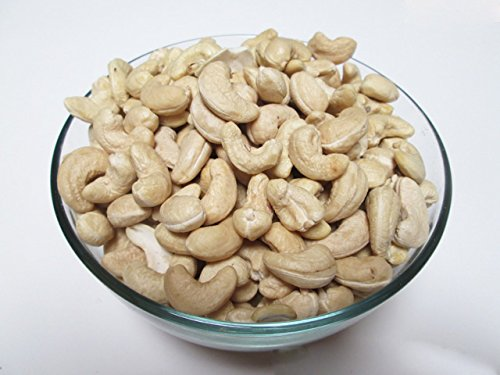(Raw Whole Cashews, 320 CT, 3 LBS bag)