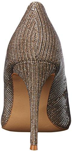 Carlos Di Carlos Santana Womens Posy Dress Pump Gold