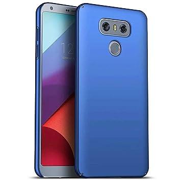 Funda LG G6 Caja Caso MUTOUREN PC Carcasa Anti-Scratch Anti-rasguños Bumper Protectora de teléfono Case Cover para LG G6 (Azul)
