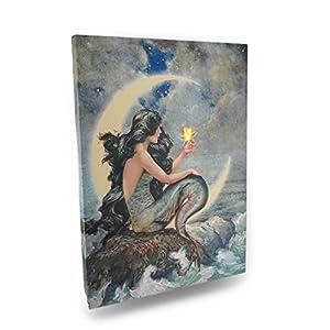 51xQvbERTlL._SS300_ Mermaid Wall Art and Mermaid Wall Decor