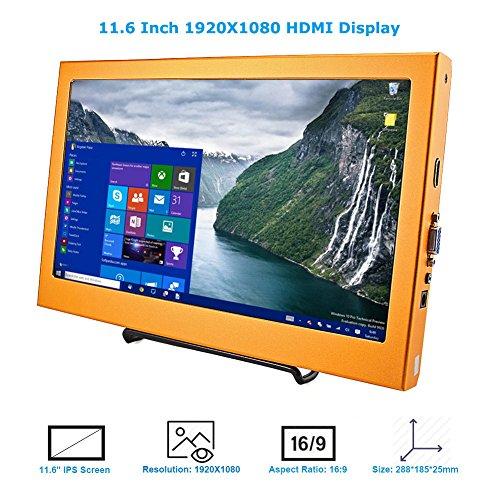 Elecrow 11 6 Inch 1920X1080 HDMI VGA PS3 PS4 WiiU Xbox360 - Import