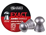 JSB Match Exact Jumbo Diabolo Pellets, .22 Cal, 15.89 Grains, Domed, 250ct